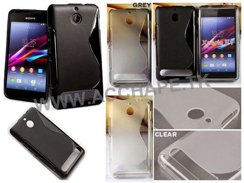 Jual S-Wave Soft Case Sony Xperia E1 / E1 Dual D2004 D2005 D2104 D2105