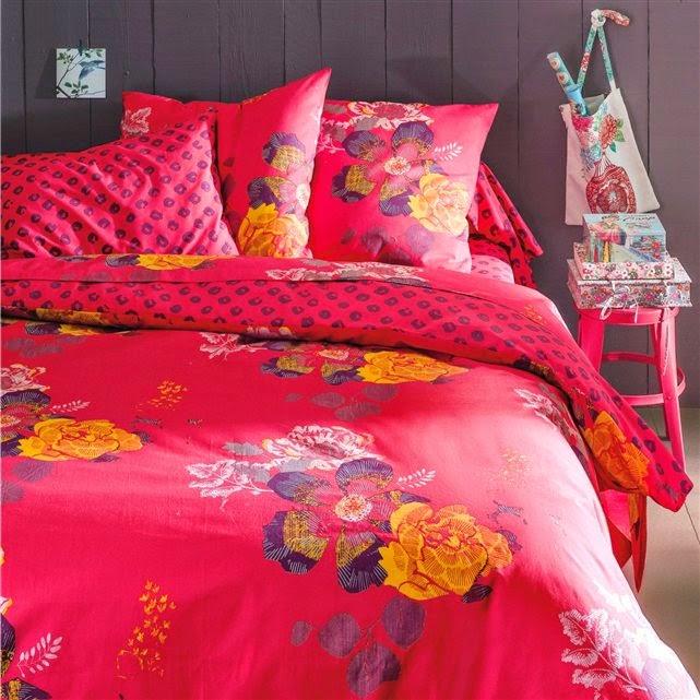 20 quartos em estilo floral liberty decora o e ideias - Housse de couette bicolore la redoute ...