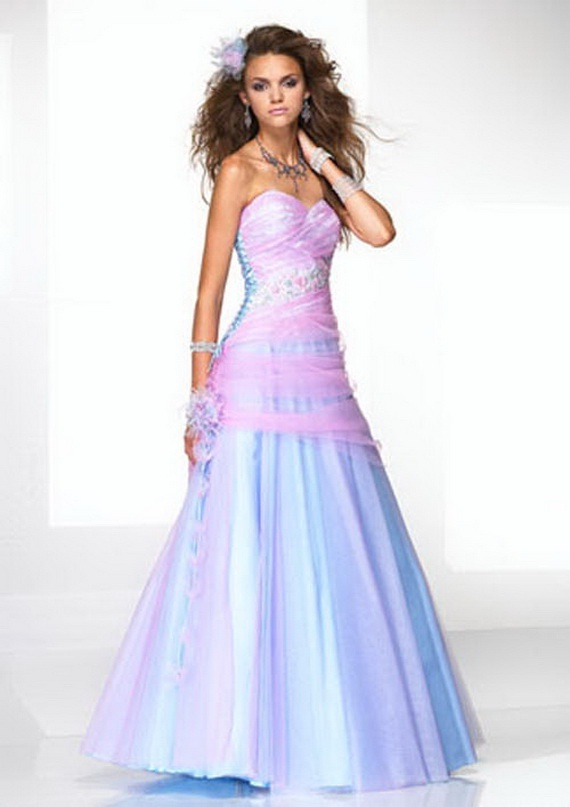 Elegant Casual Colorful Wedding Dresses