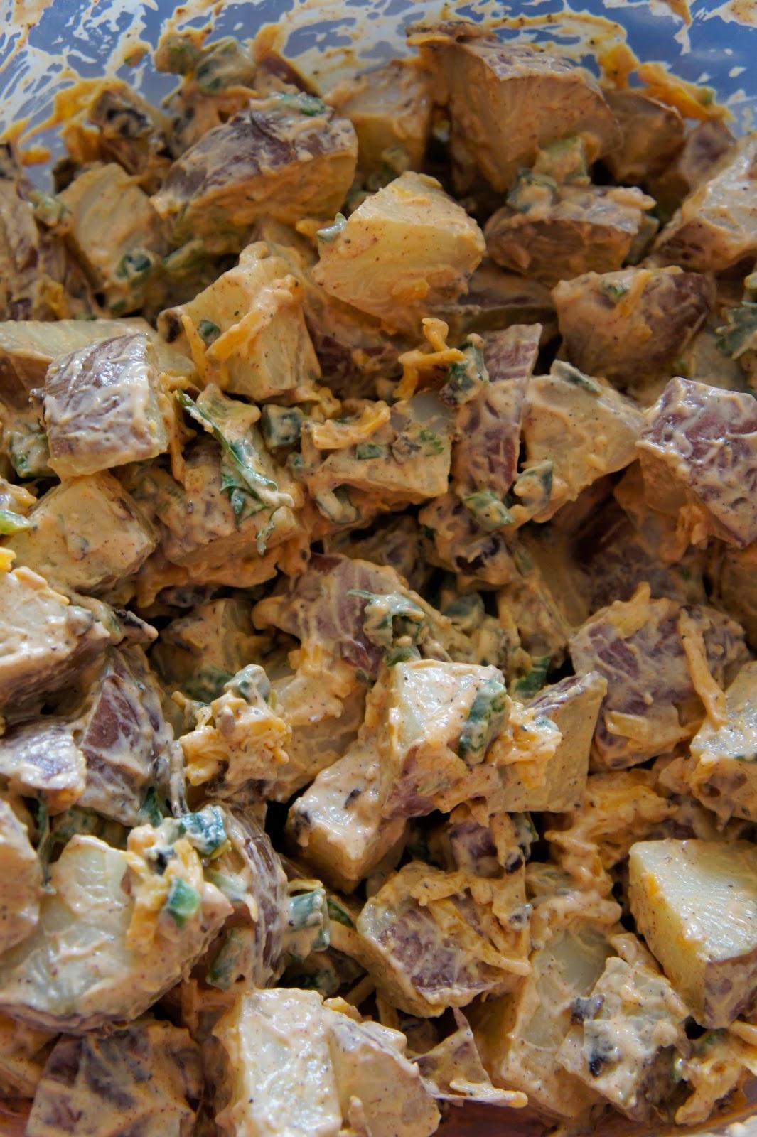 Southwest Potato Salad: Savory Sweet and Satisfying