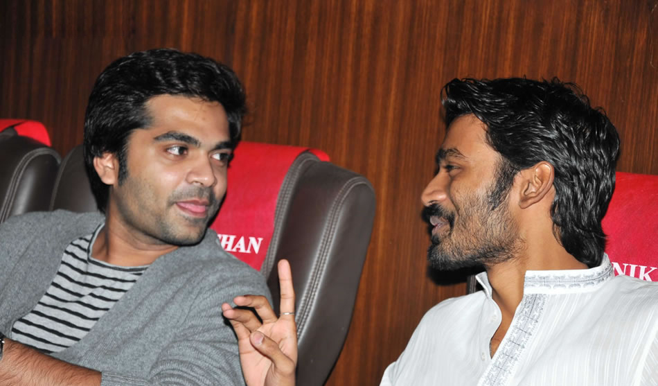 Dhanush Says Hansika Right About Simbu