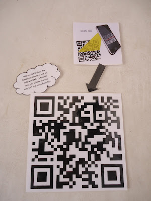 Bar Code at Ajman Museum