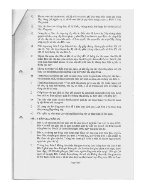 Trang 6 Chung cư hh3 linh đàm