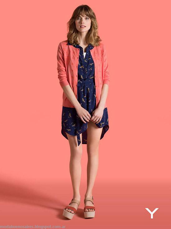Yagmour primavera verano 2015 vestidos cortos de verano 2015.