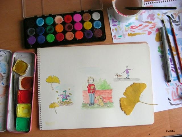 watercolors by betitu