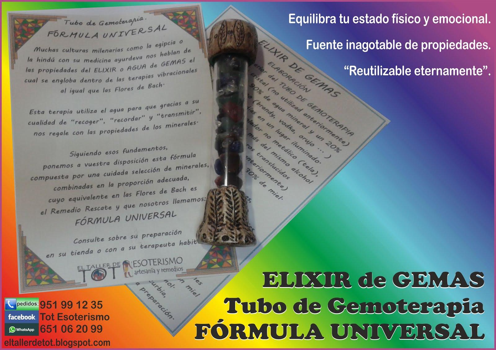 ELIXIR DE GEMAS