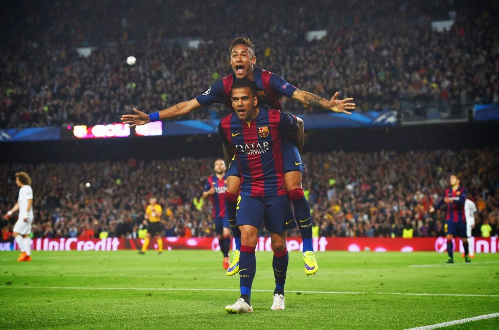 FC BARCELONA VS PSG CHAMPIONS LEAGUE 2015