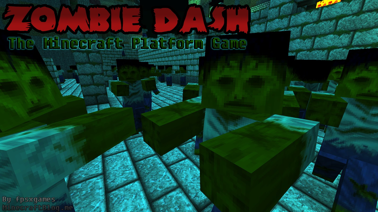 Minecraft Blog: Zombie Dash, The Minecraft Horror Platform Game on