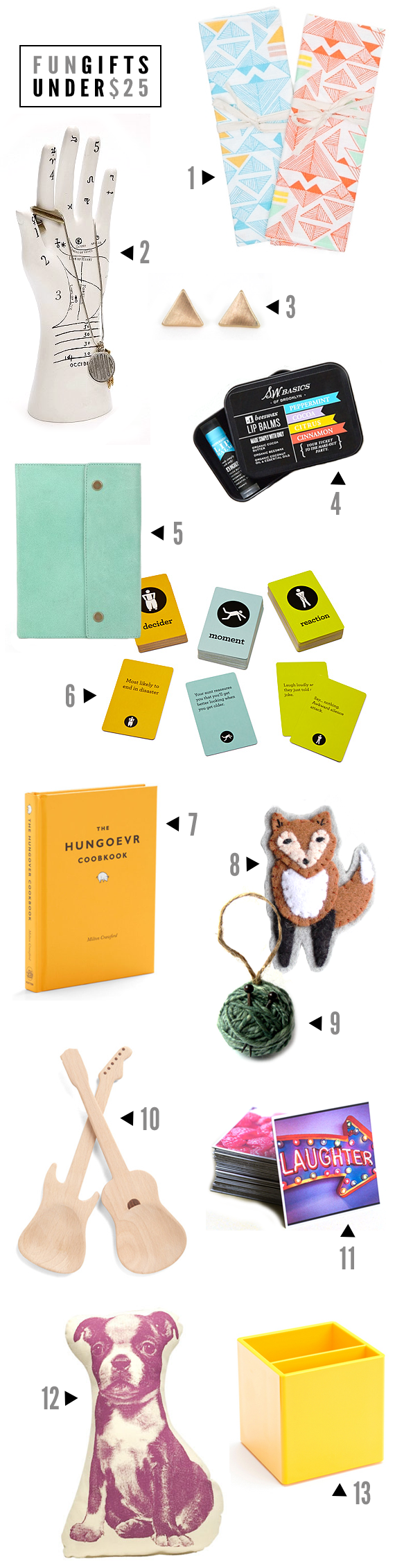 Fun Gift Ideas for Under $  25 // Bubby and Bean