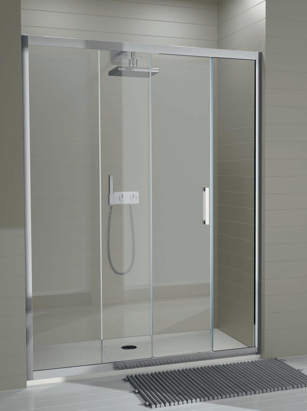 Montaje de mamparas de ducha m p instalaciones platos - Platos de ducha con mampara ...