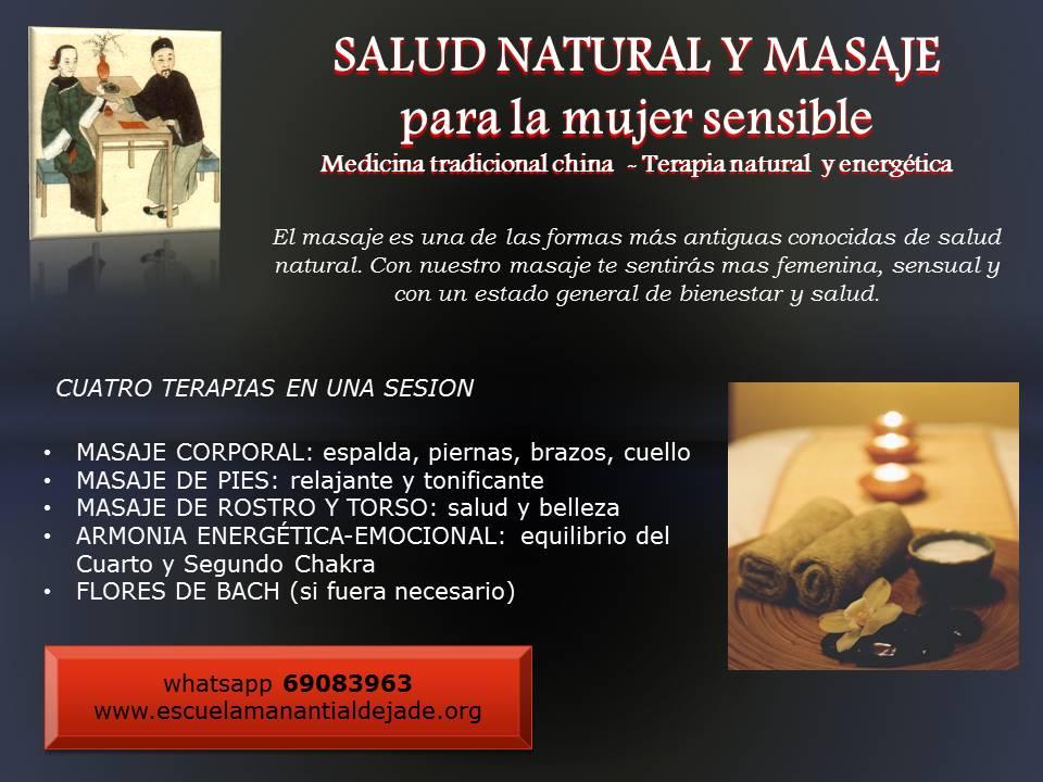 MASAJE Y SANACIÓN FEMENINA