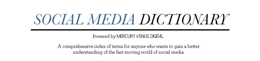 Social Media Dictionary