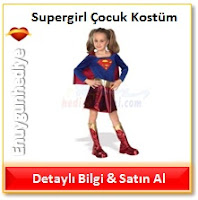 Supergirl Çocuk Kostüm