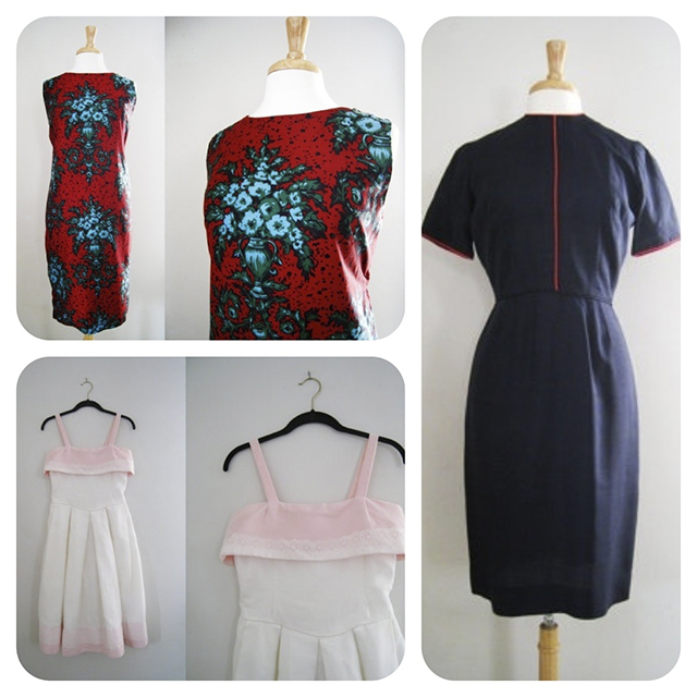 shop vintage dresses at CutandChicVintage