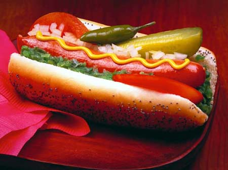 Hot Dog Wieners Calories