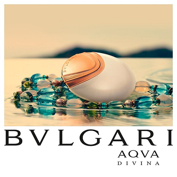 Reklama perfum Bvlgari Aqua Divina
