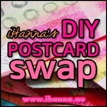 iHannas Postcard SWAP