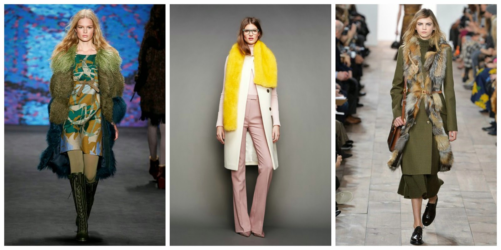 70s fur aw15 nyfw trend report blogger fashion faux texture