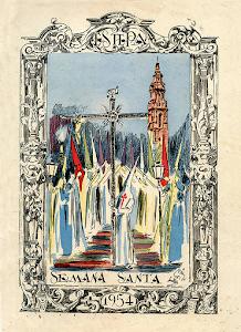 PROCESIÓN MAGNA 1954