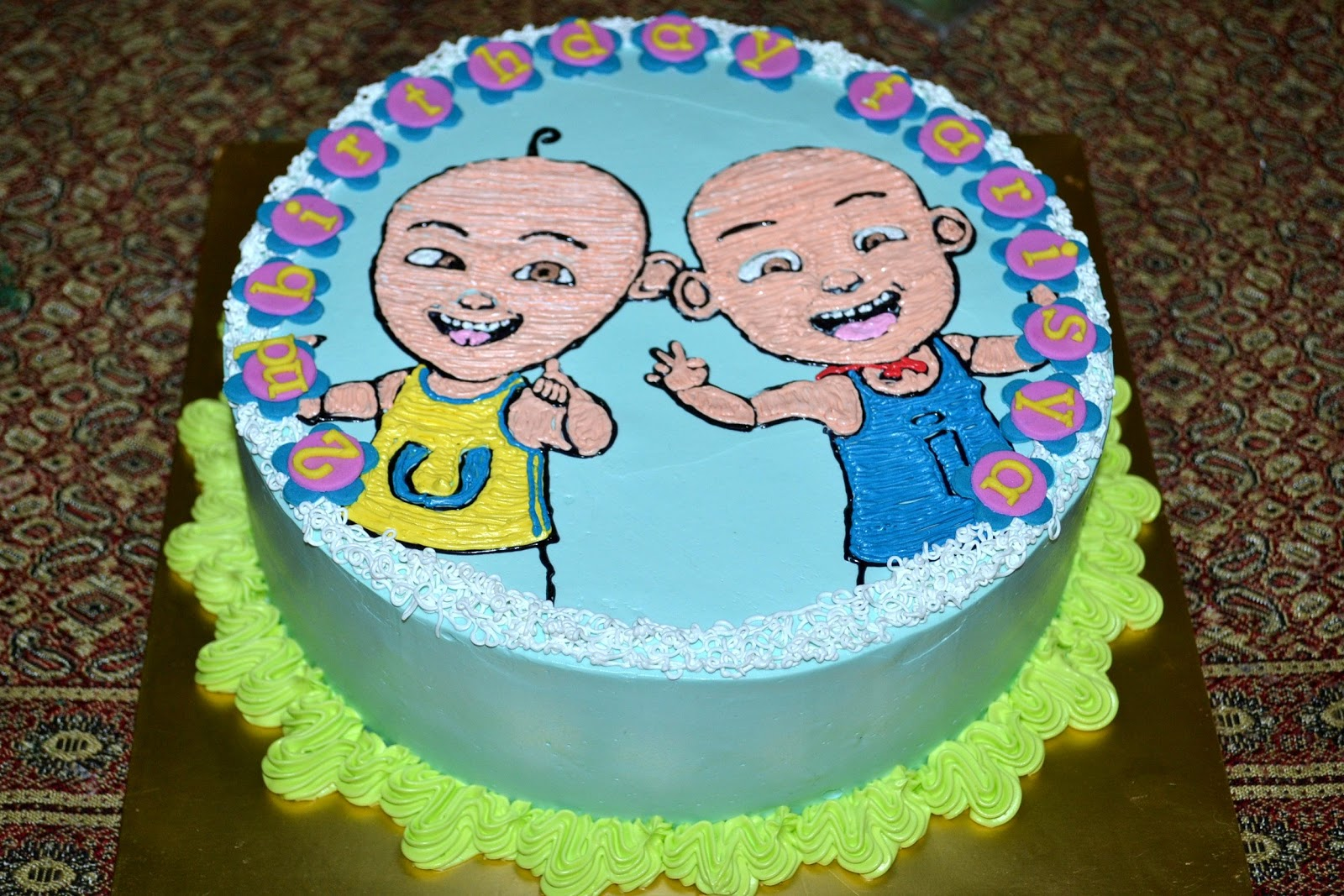 MyPu3 Cake House: Upin Ipin Cake