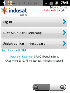 Indosat Care - Home