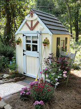 Whimsical Garden Shed Cottage