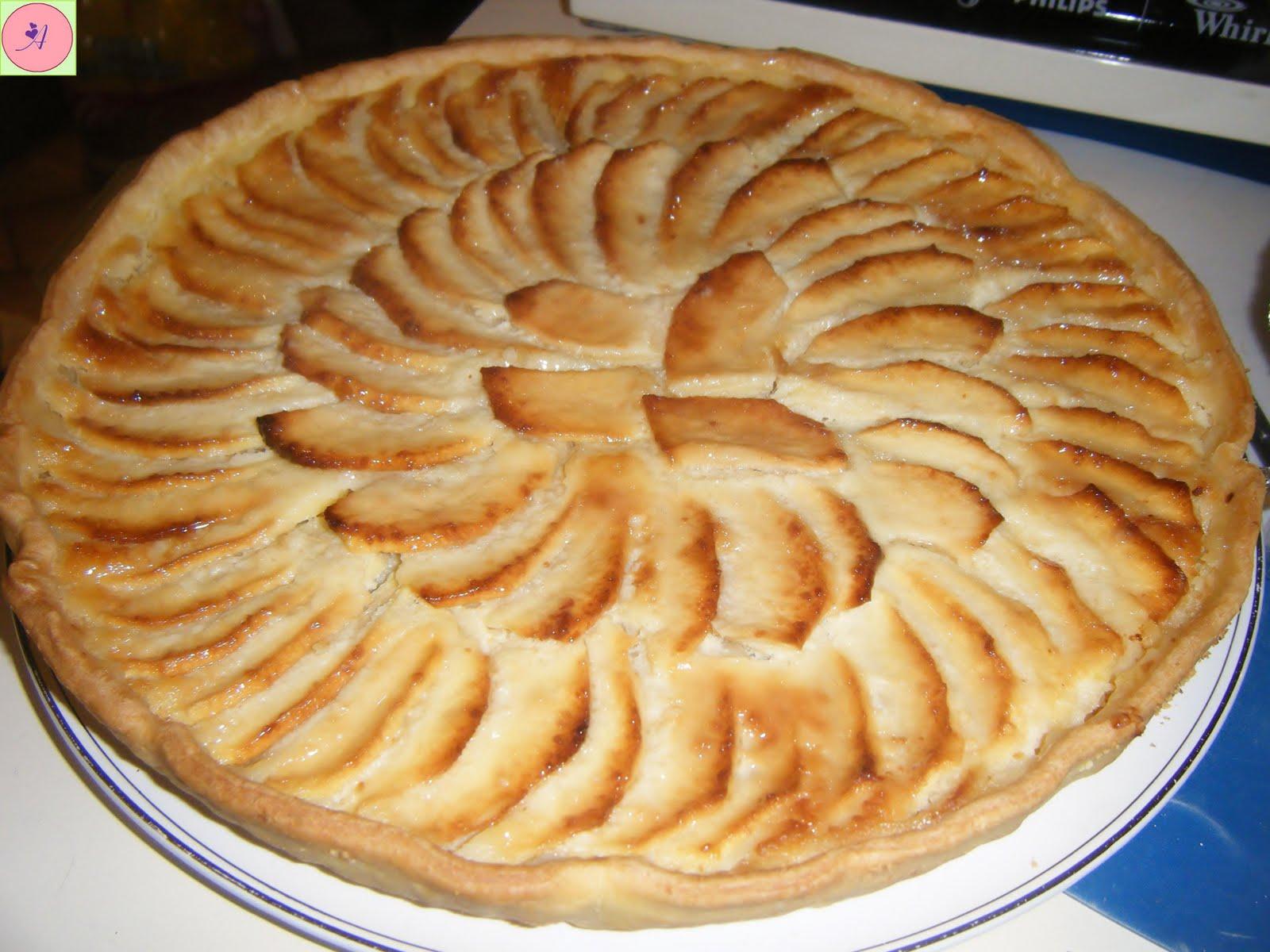 Le boudoir de la belle au bois dormant ma tarte aux pommes - Recette tarte au pomme normande ...