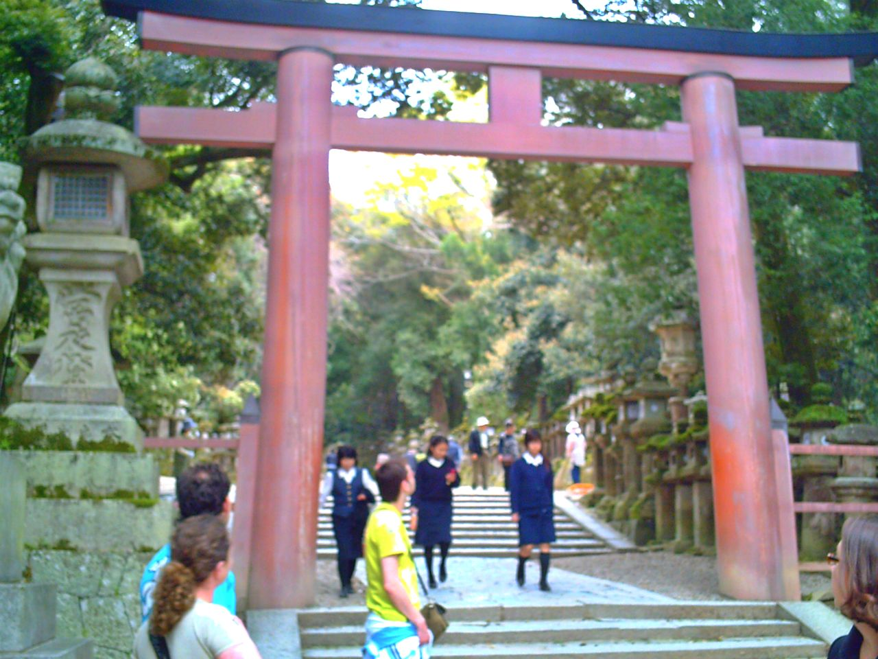 Santuario Kasuga Nara Japon