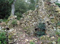 La masia enrunada de Can Benet