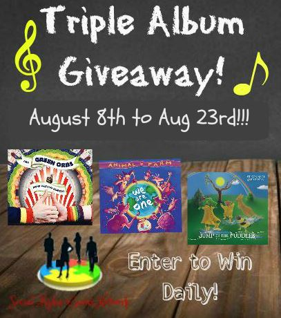 Triple Album Giveaway