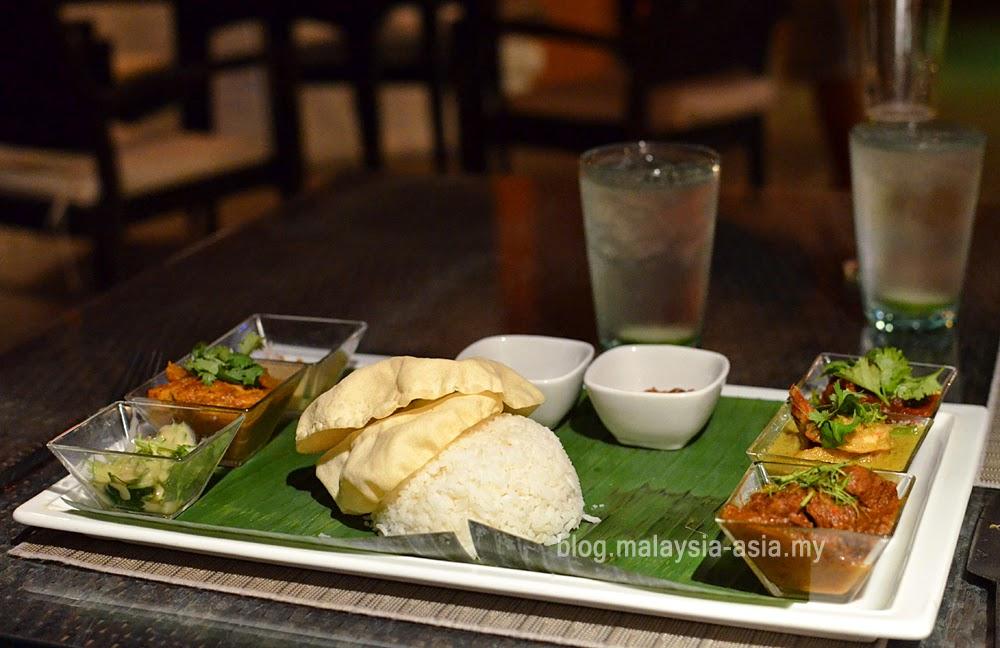 Malaysian Tasting Platter at Casa del Mar