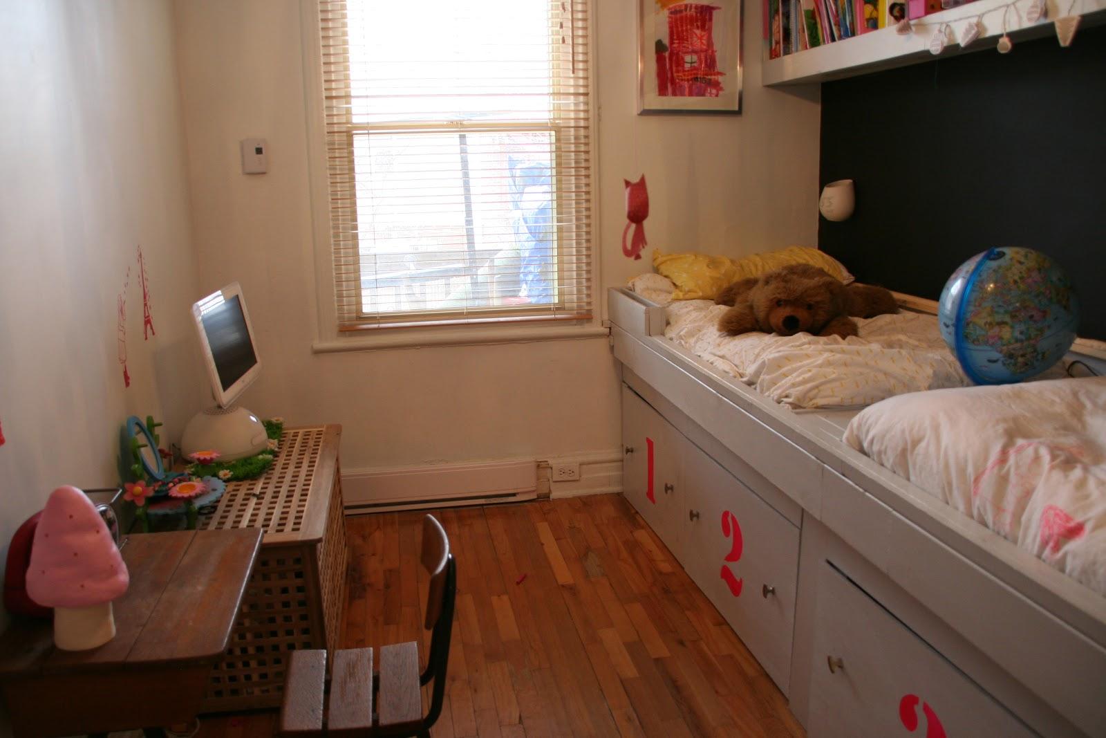 Transformation for Pinterest chambre enfant verriere