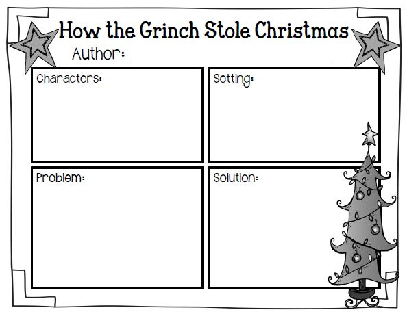 Wild About Firsties Its beginning to look a lot like – How the Grinch Stole Christmas Worksheets