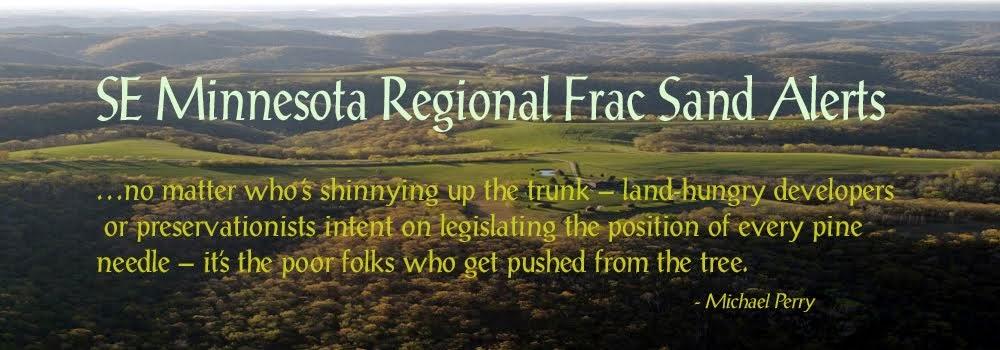 SE Minnesota Regional                 Frac Sand Mining Alerts