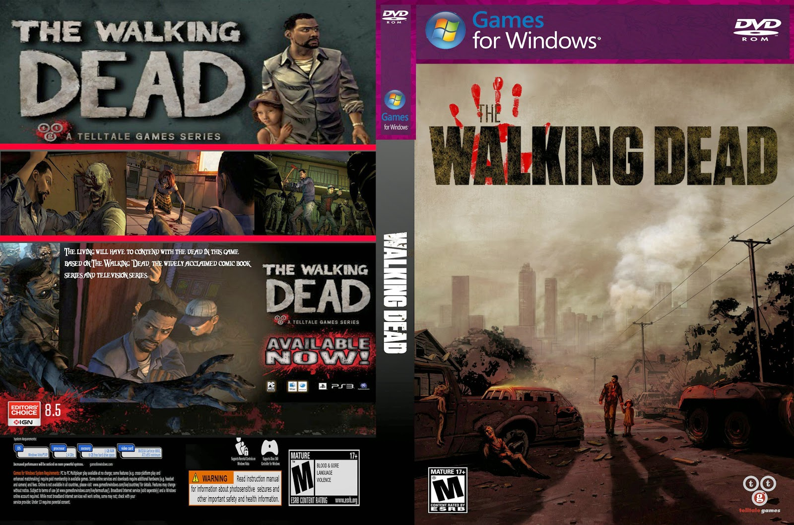 Capa The Walking Dead PC