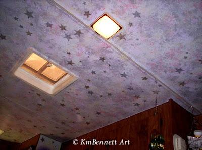 Camper ceiling KmBennettArt