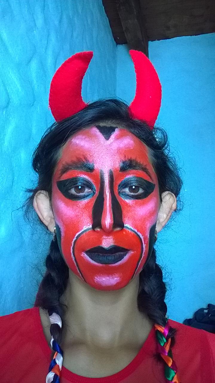 espero que te hayan agradado estos consejos para un maquillaje de diablo sencillo pero aterrador