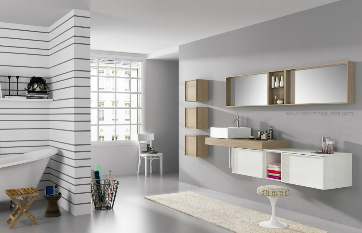 ALTHAIR: mueble baño modular y a medida ~ Reformas Guaita
