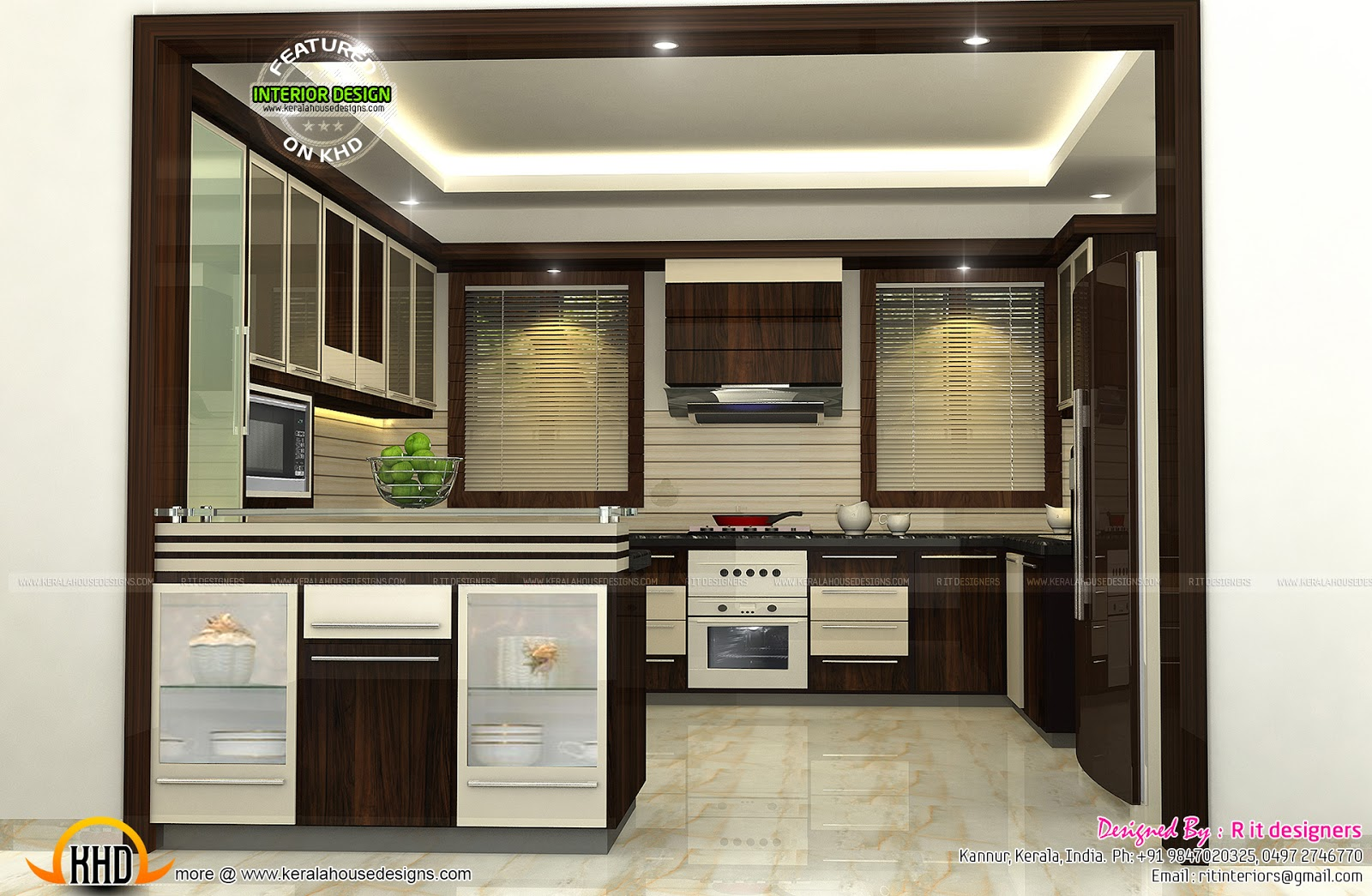 Brilliant Small Kitchen Design Kerala Interior Modular Designs