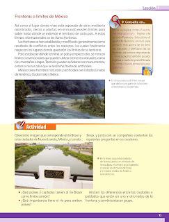 Apoyo Primaria Geografía 4to grado Bloque I lección 1 En busca de México