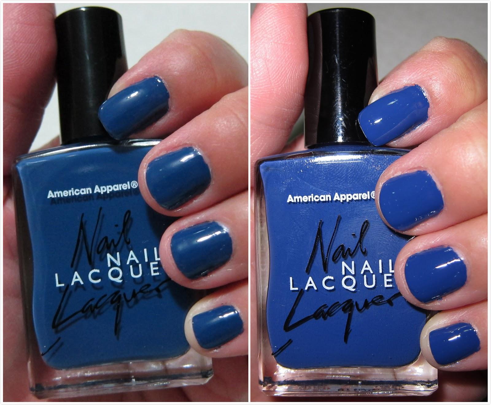 Luluchinadoll: Nail Polish Swatches: American Apparel, Wet n\' Wild ...
