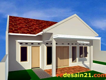 contoh gambar desain rumah minimalis type 90 luas tanah