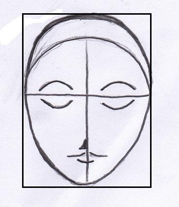 Arte semplice e poi l 39 arte e il disegno della testa e del for Immagini di cavalli da disegnare