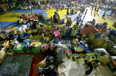 Evacuados por tifón Noul 11 de Mayo 2015