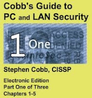 Free 3 part download: PC/LAN security book from the nineties