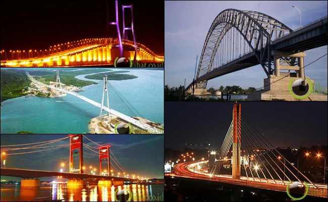 10 Jembatan yang paling Terpanjang di Indonesia