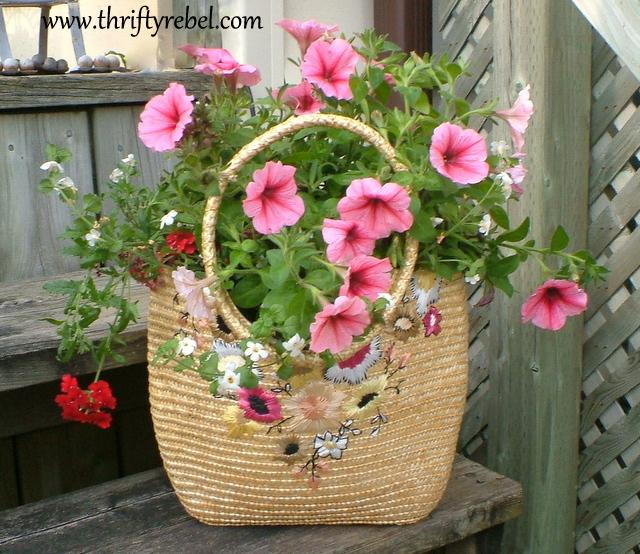 how-to-make-a-purse-planter