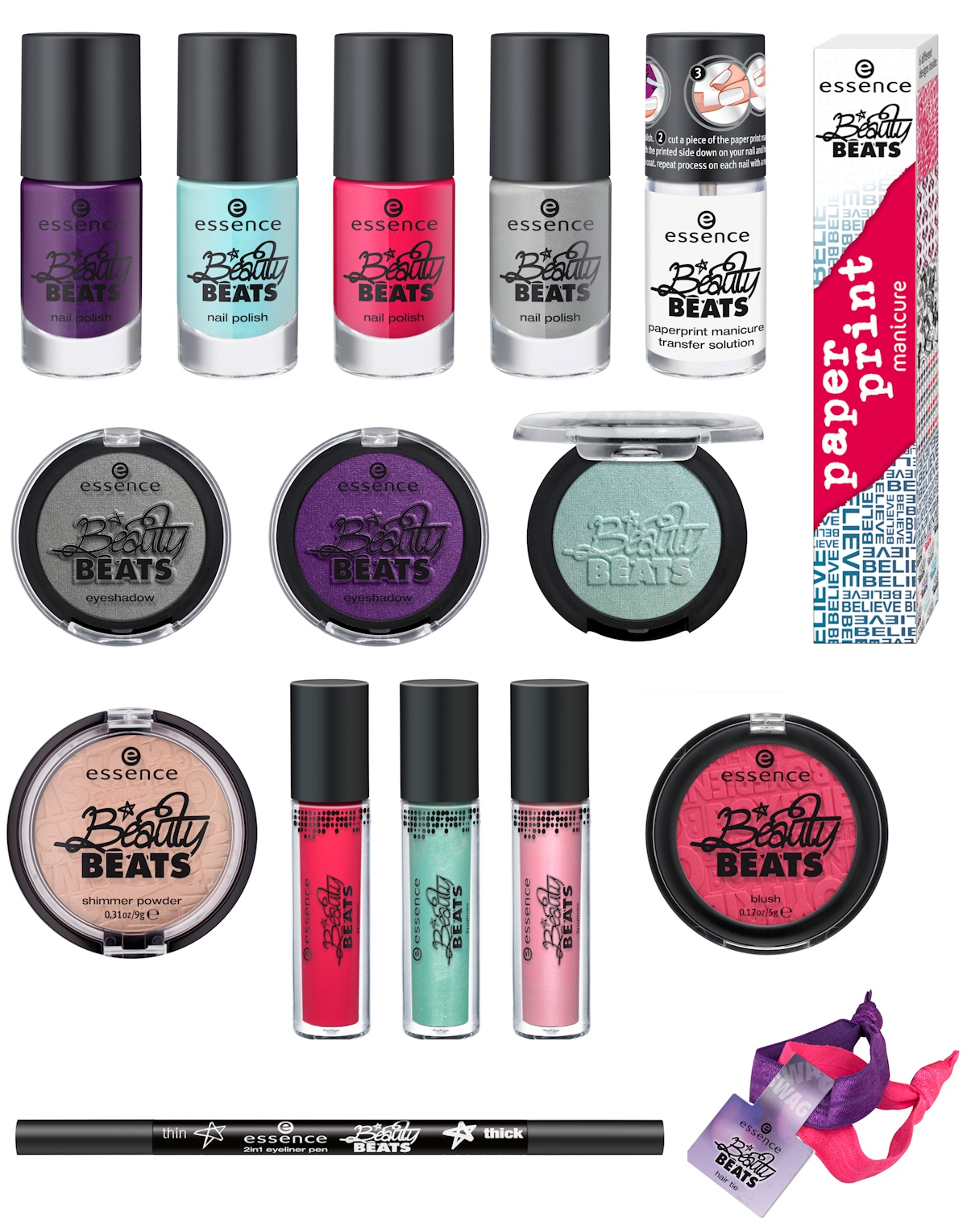 Oooh, Shinies!: Essence Beauty Beats & Metal Glam - Preview
