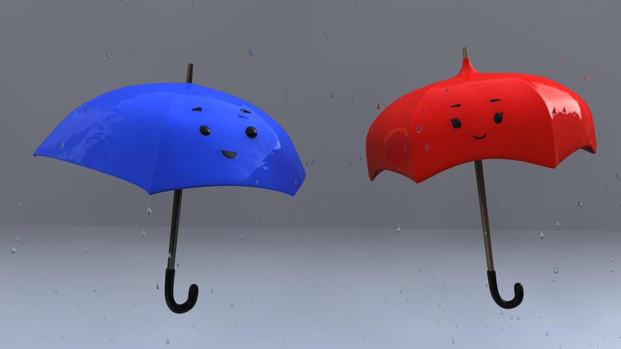 The Blue Umbrella | Portfolio by Enrique Poppe