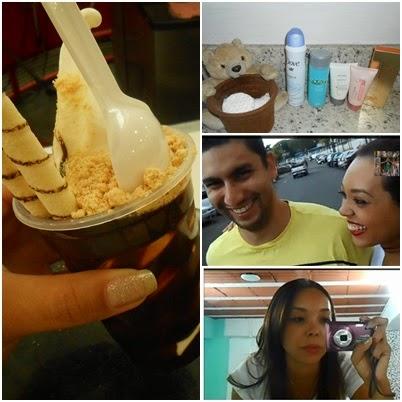 Compras no Walmart, Lojas Rede e Shopping Itaú com o marido